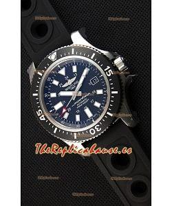 Breitling SuperOcean 44 Reloj Suizo Especial de Acero con Correa de Goma.