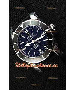 Breitling SuperOcean Heritage II B20 42MM Reloj Réplica Suizo con Dial Negro - Edición Espejo 1: 1