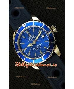 Breitling SuperOcean Heritage II B20 42MM Reloj Réplica Suizo con Dial Azul - Edición Espejo 1: 1