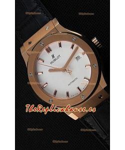 Hublot Classic Fusion King Gold Opalin Reloj Réplica Suizo - Réplica a Espejo 1:1