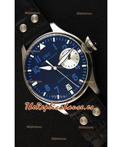 IWC BIG Pilot's Alexei Nemov IW500431 Reloj Suizo - Indicador de Reserva de Energía Funcional - Réplica a Espejo 1:1