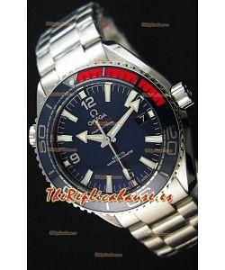 Omega Seamaster Planet Ocean Pyeong Chang 2018 Reloj Réplica Suizo a espejo 1:1