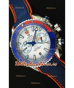 Omega Seamaster Planet Ocean 600M Reloj Réplica a Espejo 1:1 Edición Michael Phelps