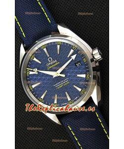 Omega Seamaster Aqua Terra Co-Axial SPECTRE Edición Limitada Reloj Réplica Suizo a Espejo 1:1