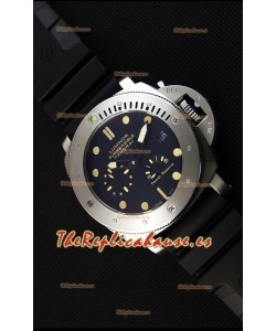 Panerai Luminor Submersible Reloj Réplica Japonés con Indicador de Reserva de Energía
