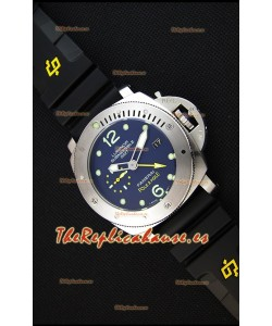 Panerai Luminor Submersible PAM00719 1950 3 Days GMT Pole2Pole Reloj Réplica Japonés