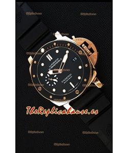 Panerai Luminor Submersible 3 days PAM684 Reloj Réplica Suizo a Espejo 1:1 en Oro Rosado