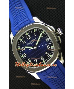 Patek Philippe Aquanaut 5168G-001 Reloj Réplica Suizo Dial en Azul - Versión Actualizada a Espejo 1:1
