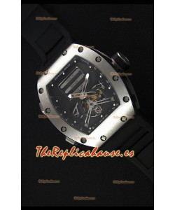 Richard Mille RM069 Tourbillon Erotic Reloj Réplica Caja en Acero Inoxidable