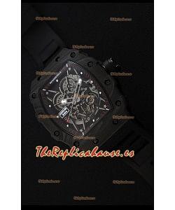 Richard Mille RM35-2 Rafael Nadal Caja de Carbón Forjado con Correa Negra