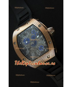 Richard Mille RM 018 Tourbillon Hommage A Boucheron Reloj Suizo con Caja en Oro Rosado