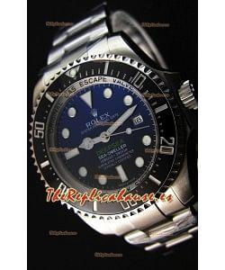 Rolex Sea-Dweller REF# 116660 Deep Sea Blue Reloj Réplica Suizo a Espejo 1:1 - Reloj en Acero 904L