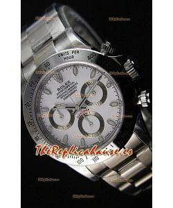 Rolex Cosmograph Daytona 116520 Movimiento Original Cal.4130 Dial Blanco - Último Reloj de Acero 904L