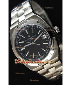 Vacheron Constantin Overseas Reloj Réplica Suizo a Espejo 1:1 con Dial en Negro