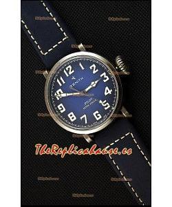 Zenith Pilot Type 20 Extra Especial Reloj Réplica Suizo con Dial en Azul 40MM