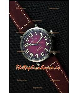 Zenith Pilot Type 20 Extra Especial Reloj Réplica Suizo con Dial en Púrpura 40MM