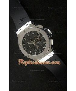 76ed161f2c3d Hublot Big Bang Aerobang Reproducción Reloj Suizo de Acero Inoxidable ...