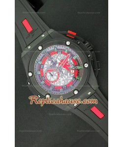 Hublot Big Bang Keng Power Manchester United Reloj Japonés en PVD