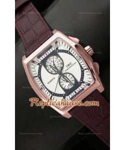 Reloj Japonés en Oro Rosa IWC Da Venci Kurt Klaus Edición Limitada