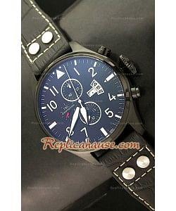 IWC Big Pilot Complications Reproducción Japonesa del Reloj en PVD - 47MM