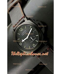 Panerai Lumenor Marena Reloj con Reserva de Batería en PVD