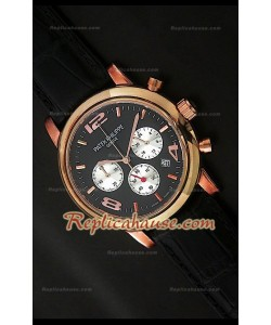 Patek Philippe Perpetual Reloj Calendario de Acero
