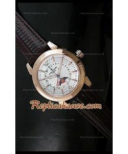 Patek Philippe Reloj de Compilación Señores en Gris y Oro