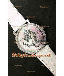 Piaget Altiplano Dragon Reloj  Japonés con Movimento de Cuarzo