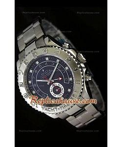 Rolex Replica Yachtmaster II Reloj Suizo con Esfera en Azul oscuro