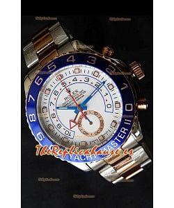 Rolex Réplica Yatchmaster II Suizo Dos Tonos de Oro Amarillo – 1:1 Réplica Espejo
