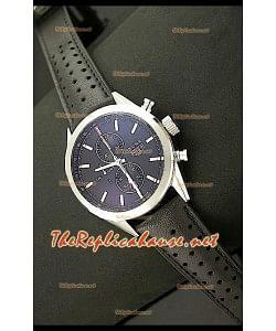 Tag Heuer SLR 300 Reloj Japonés con Esfera de color Negro - Correa de Piel