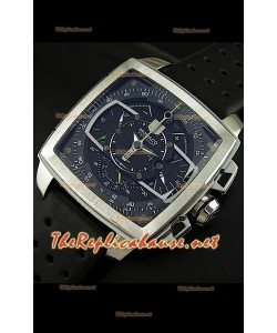 Reloj Tag Heuer Monaco Mikrograph de acero inoxidable.