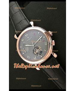 Vacheron Constantin Reloj Calendario de Oro Rosa y Esfera Gris