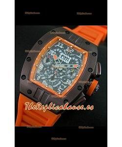 Richard Mille RM011 Edición Filipe Massa  Carcasa de PVD Réplica Suiza