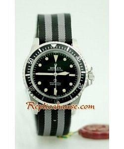 Rolex Réplica Submariner Vintage Military Reloj Suizo