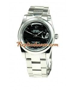 Rolex Réplica Day Date Silver Reloj