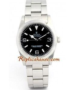 Rolex Réplica Explorer I -Silver