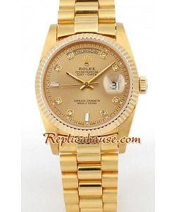 Rolex Réplica Day Date Gold