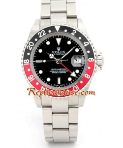 Rolex Réplica GMT - Silver
