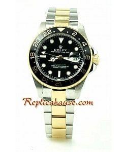 Rolex Réplica GMT Dos Tonos Reloj Réplica