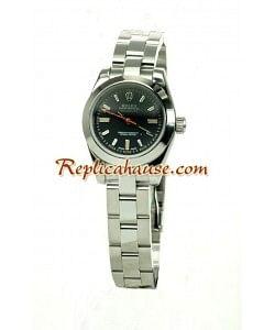 Rolex Réplica Milgauss Reloj para Dama