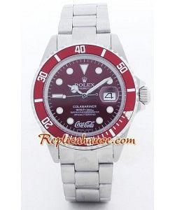 Rolex Submariner Réplica - Edición Coca Cola - para Hombre