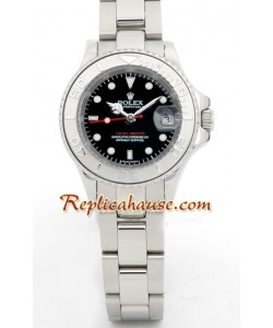 Rolex Réplica Yacht Master-Silver- Dama -