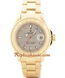 Rolex Yacht Master Gold - Cara dorada