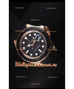Rolex Yacht-Master 40 Reloj tipo Ostra 40MM, Reloj Suizo Oro Everose