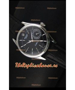 Rolex Cellini Date 50519 Reloj Réplica Suizo en Dial Negro