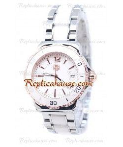 Tag Heuer Formula 1 Quartz Ceramic Bisel de diamantes Reloj