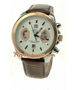 Tag Heuer Gry Carrera Leather Reloj Réplica