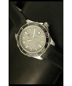 Tag Heuer Aquaracer Calibre 5 Reloj suizo Dial Gris - Réplica Escala 1:1