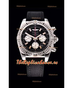 Breitling Chronomat Airbone Reloj Réplica a Espejo 1:1 con Dial Negro